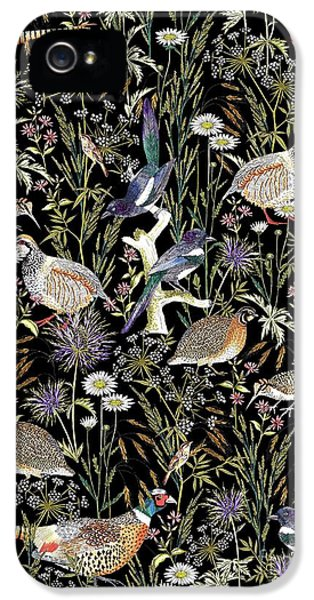 Woodland Edge Birds IPhone 5 Case