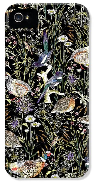 Woodland Edge Birds IPhone 5 / 5s Case by Jacqueline Colley