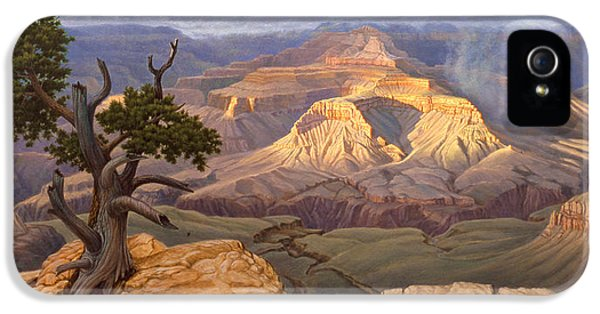 Zoroaster Temple From Yaki Point IPhone 5 / 5s Case by Paul Krapf