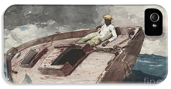The Gulf Stream IPhone 5 Case by Winslow Homer