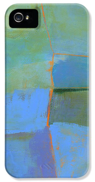 Abstract iPhone 5 Case - 100/100 by Jane Davies