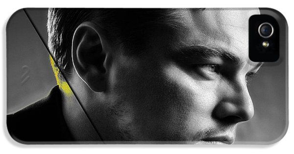 Leonardo Dicaprio Collection IPhone 5 Case by Marvin Blaine