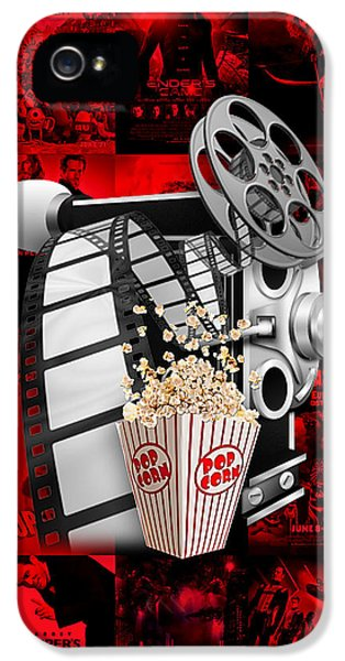 Hollywood iPhone 5 Case - Movie Room Decor Collection by Marvin Blaine