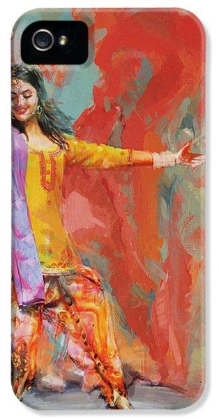 11 Pakistan Folk Punjab IPhone 5 Case by Maryam Mughal