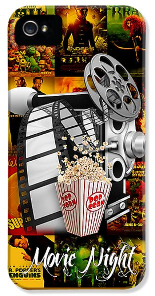 Movie Room Decor Collection IPhone 5 Case by Marvin Blaine