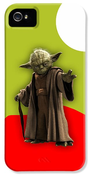 Star Wars Yoda Collection IPhone 5 Case by Marvin Blaine