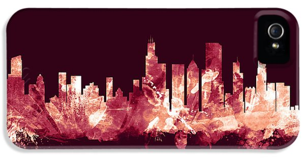 Chicago Illinois Skyline IPhone 5 / 5s Case by Michael Tompsett