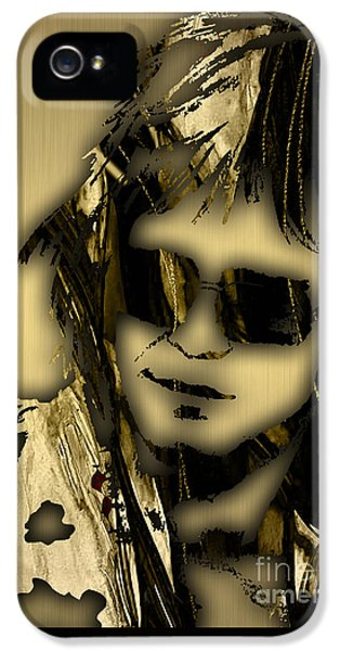 Elton John Collection IPhone 5 Case by Marvin Blaine