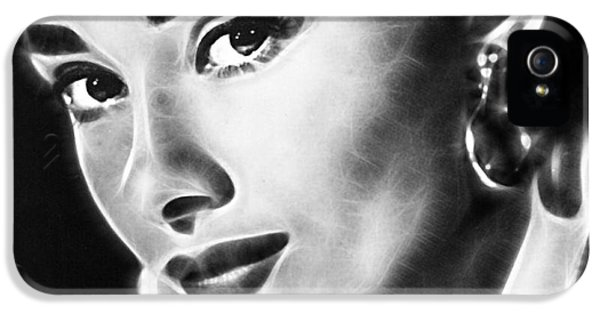 Audrey Hepburn Collection IPhone 5 Case by Marvin Blaine
