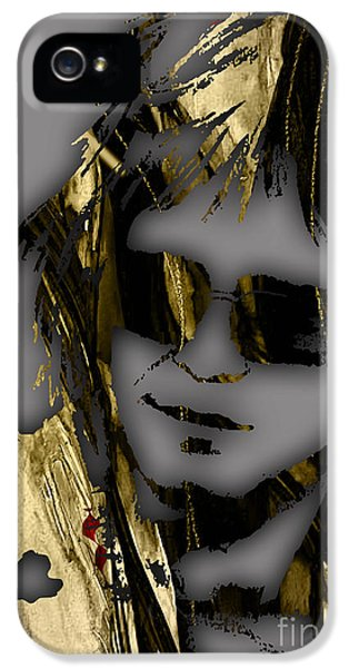 Elton John iPhone 5 Case - Elton John Collection by Marvin Blaine
