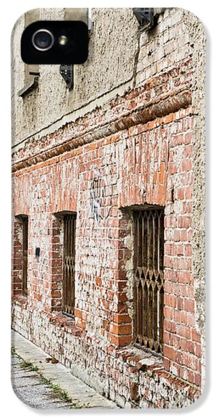 Dungeon iPhone 5 Case - Derelict Building by Tom Gowanlock