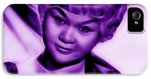 Etta James Collection IPhone 5 Case by Marvin Blaine