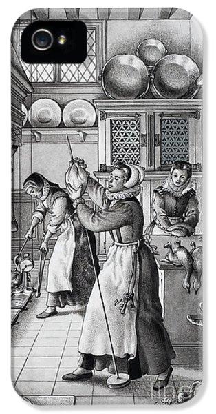 16th Century Kitchen IPhone 5 Case