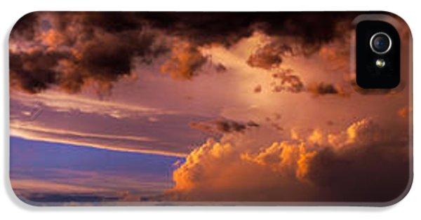 Nebraskasc iPhone 5 Case - Nebraska Hp Supercell Sunset by NebraskaSC
