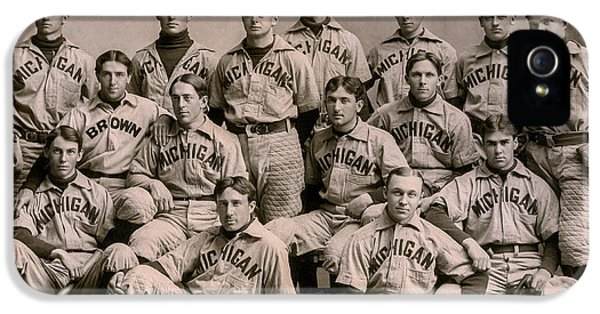 1896 Michigan Baseball Team IPhone 5 Case