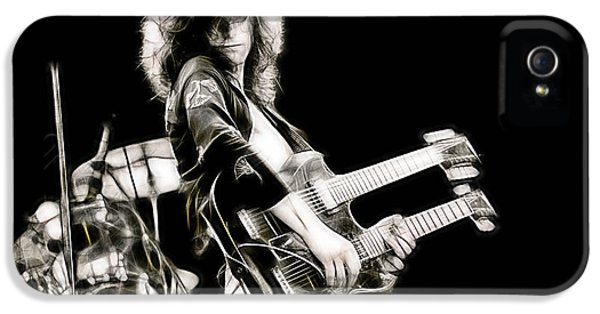 Jimmy Page Collection IPhone 5 Case