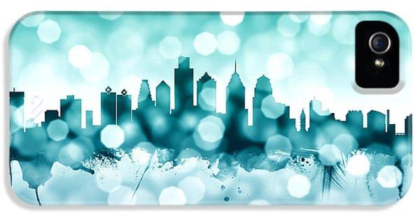 Philadelphia Pennsylvania Skyline IPhone 5 Case