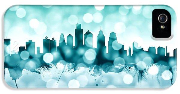 Philadelphia Pennsylvania Skyline IPhone 5 / 5s Case by Michael Tompsett