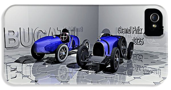 1925 Grand Prix Bugatti Anzani IPhone 5 Case by Andrei SKY