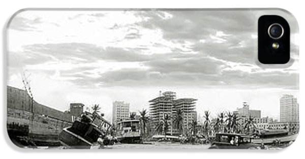 1926 Miami Hurricane  IPhone 5 Case by Jon Neidert