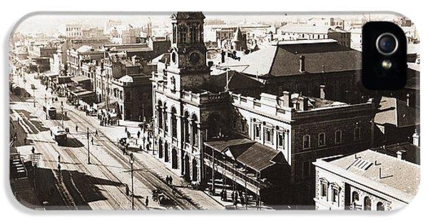 1928 Vintage Adelaide City Landscape IPhone 5 Case