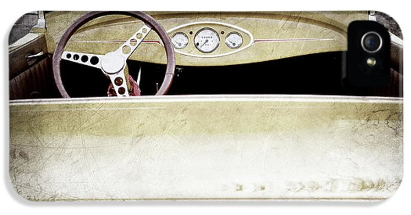 1929 Ford Model A Roadster -0040ac IPhone 5 Case by Jill Reger
