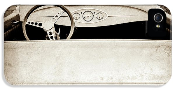 1929 Ford Model A Roadster -0040s IPhone 5 Case by Jill Reger