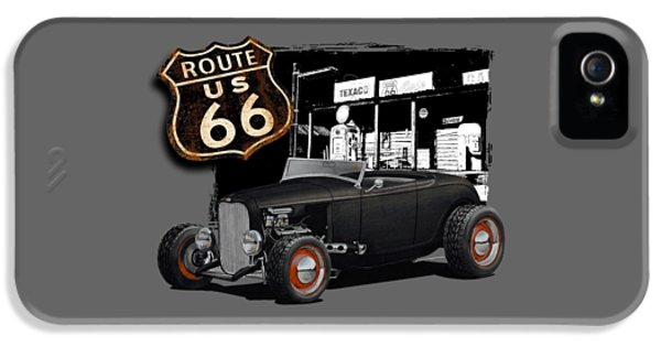 1932 Ford On Route 66 IPhone 5 Case