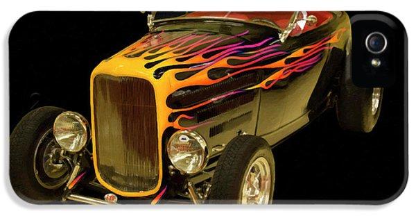 1932 Ford Roadster Digital Oil IPhone 5 Case