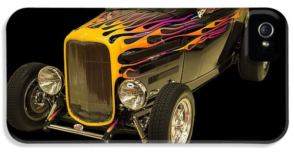 1932 Ford Roadster Hot Rod IPhone 5 Case by Chris Flees