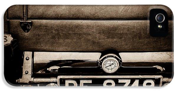1936 Bugatti Type 57s Corsica Tourer License Plate -0067s IPhone 5 Case
