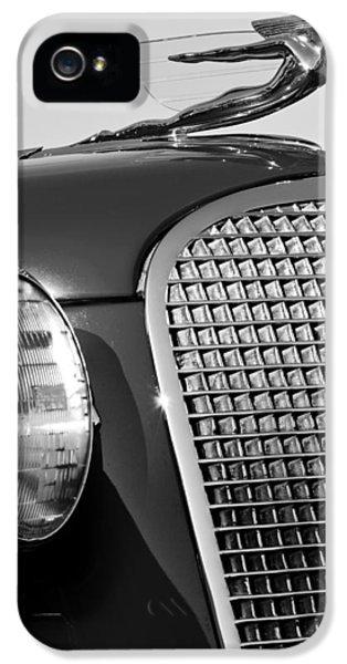 1937 Cadillac V8 Hood Ornament 3 IPhone 5 Case