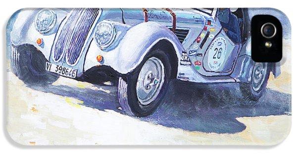 1938 Bmw 328 Roadster Caracciola Gp 2016 Winner IPhone 5 Case by Yuriy Shevchuk