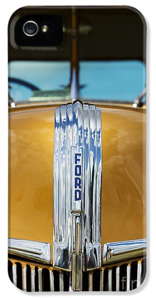 1941 Ford Pick Up  IPhone 5 Case by Tim Gainey