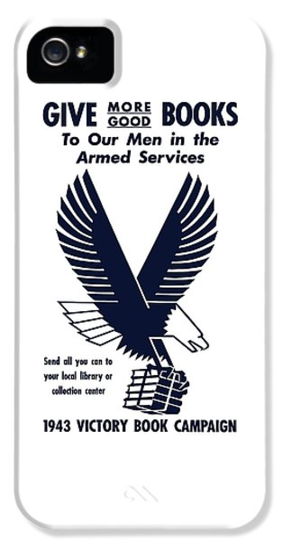 Eagle iPhone 5 Case - 1943 Victory Book Campaign by War Is Hell Store