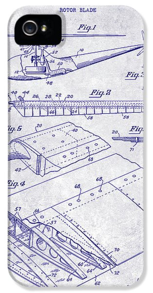 1949 Helicopter Patent Blueprint IPhone 5 Case