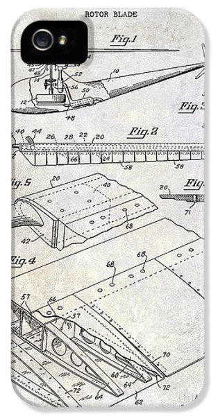 1949 Helicopter Patent IPhone 5 Case
