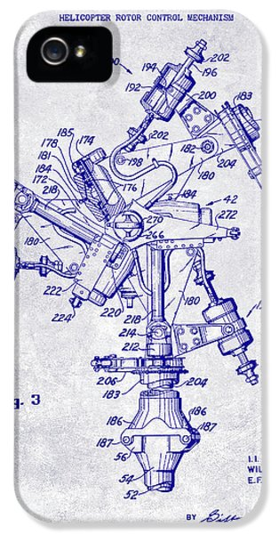 1950 Helicopter Patent Blueprint IPhone 5 Case