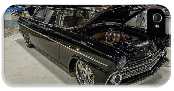 IPhone 5 Case featuring the photograph 1955 Ford Customline by Randy Scherkenbach