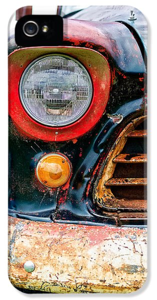 1956 Chevy 3200 Pickup Grill Detail IPhone 5 Case
