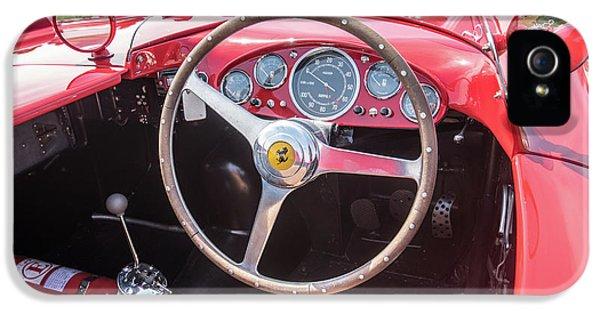 IPhone 5 Case featuring the photograph 1956 Ferrari 290mm - 4 by Randy Scherkenbach