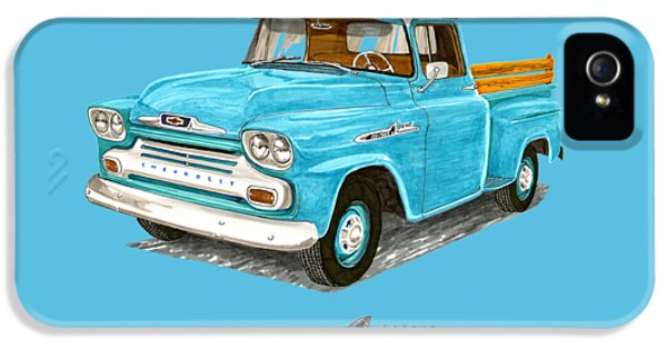 1958 Apache Pick Up Truck IPhone 5 Case