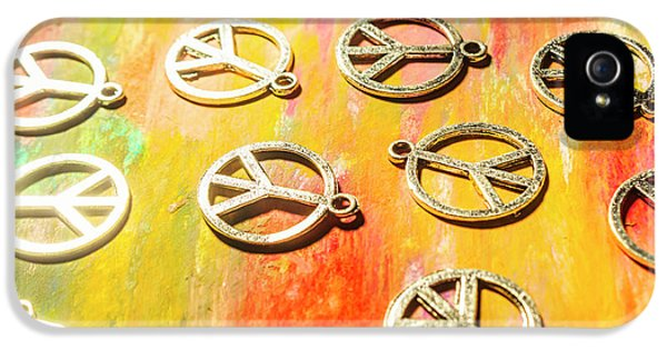 Pendant iPhone 5 Case - 1960s Peace Movement by Jorgo Photography - Wall Art Gallery