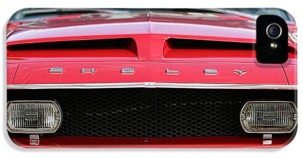1968 Ford Mustang Shelby Gt500 Kr IPhone 5 Case by Gordon Dean II