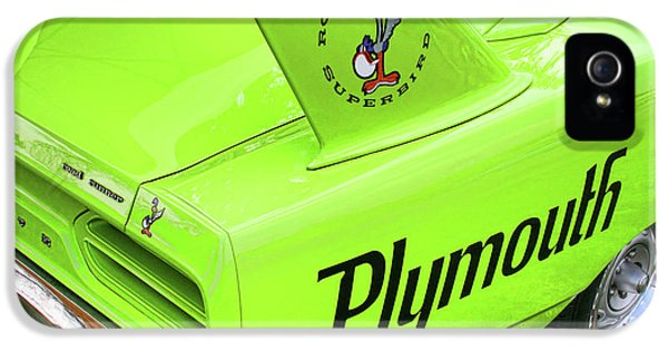 Roadrunner iPhone 5 Case - 1970 Plymouth Superbird by Gordon Dean II