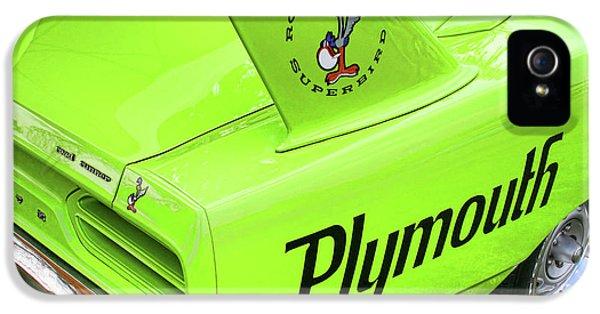 1970 Plymouth Superbird IPhone 5 / 5s Case by Gordon Dean II