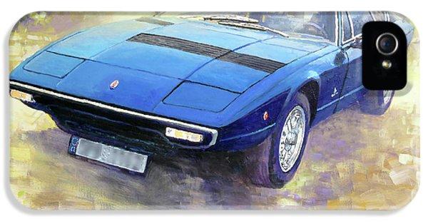 1972 Maserati Khamsin  IPhone 5 Case
