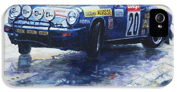 1980 Criterium Lucien Bianchi Porsche Carrera Keller Hoss #20 IPhone 5 Case