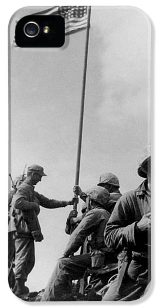1st Flag Raising On Iwo Jima  IPhone 5 Case