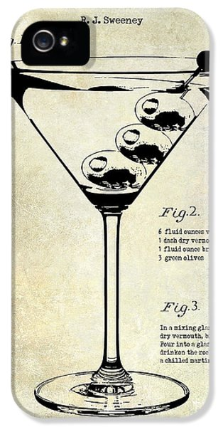 1897 Dirty Martini Patent IPhone 5 / 5s Case by Jon Neidert
